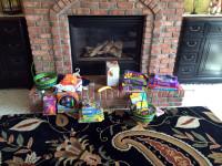 Der Osterhase liebt es Geschenke zu machen..